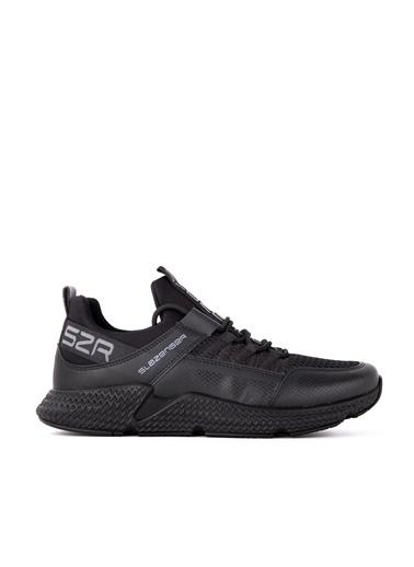 Slazenger Slazenger ZAFIRA Yürüyüş Erkek Ayakkabı    Siyah
